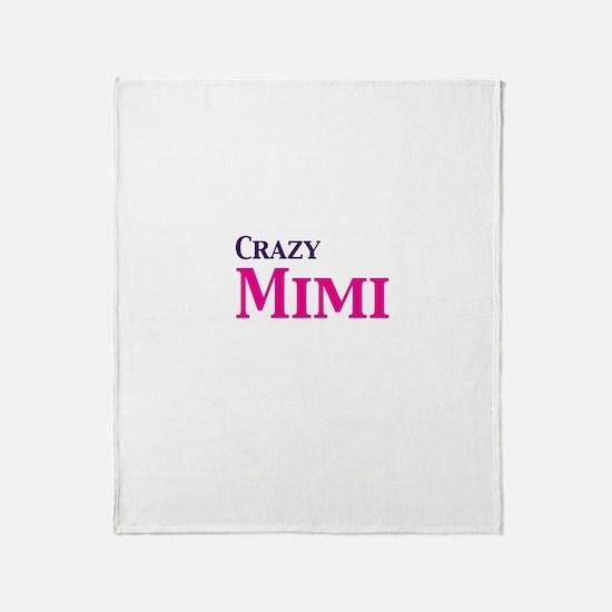 Crazy Mimi Throw Blanket