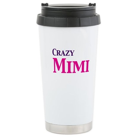 Crazy Mimi Stainless Steel Travel Mug