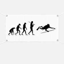 The Evolution Of The Scuba Diver Banner
