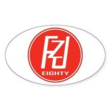 FZJEighty Oval Decal