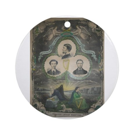 Manchester Martyrs Ornament (Round)
