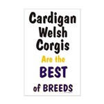 Cardigan Welsh Corgi Best Mini Poster Print