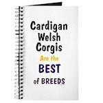 Cardigan Welsh Corgi Best Journal
