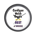 Cardigan Welsh Corgi Best Wall Clock