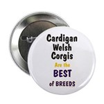 Cardigan Welsh Corgi Best Button