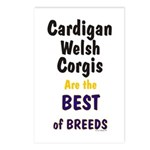 Cardigan Welsh Corgi Best Postcards (Package of 8)
