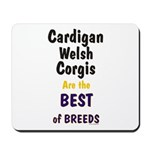 Cardigan Welsh Corgi Best Mousepad