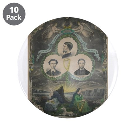 "Manchester Martyrs 3.5"" Button (10 pack)"