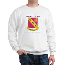 DUI-2-319 F A RGT WITH TEXT Sweatshirt