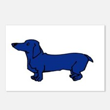 Blue Dog Postcards (Package of 8)