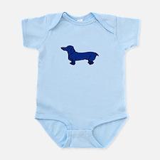 Blue Dog Infant Bodysuit