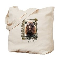 Fathers Day - Stone Paws Tote Bag