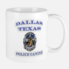 Dallas Police K9 Unit Mug