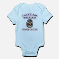 Dallas Police K9 Unit Infant Bodysuit