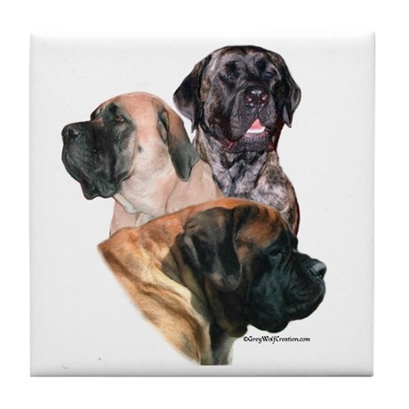 Mastiff 159 Tile Coaster