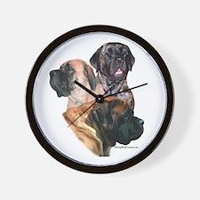 Mastiff 159 Wall Clock