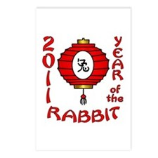 Year of the Rabbit 2011 Postcards (Package of 8)