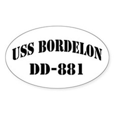 USS BORDELON Decal