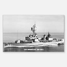 USS BORDELON Sticker (Rectangle)
