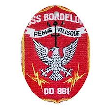 USS BORDELON Ornament (Oval)