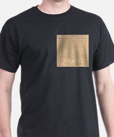 Declaration of Independence of the USA T-Shirt