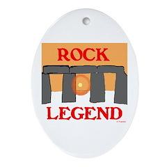 ROCK LEGEND Ornament (Oval)