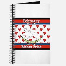 Bichon Frise Calendar Dog Journal