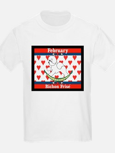 Bichon Frise Calendar Dog Kids T-Shirt