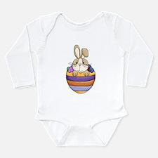 Easter Bunny Easter Egg Long Sleeve Infant Onesie