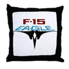 Cute F 15 eagle Throw Pillow