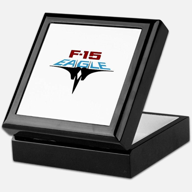 Cute F 15 eagle Keepsake Box