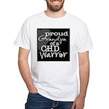 Chd grandpa Mens White T-shirts