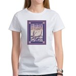 Sunset Marsh Batik Women's T-Shirt