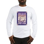 Sunset Marsh Batik Long Sleeve T-Shirt