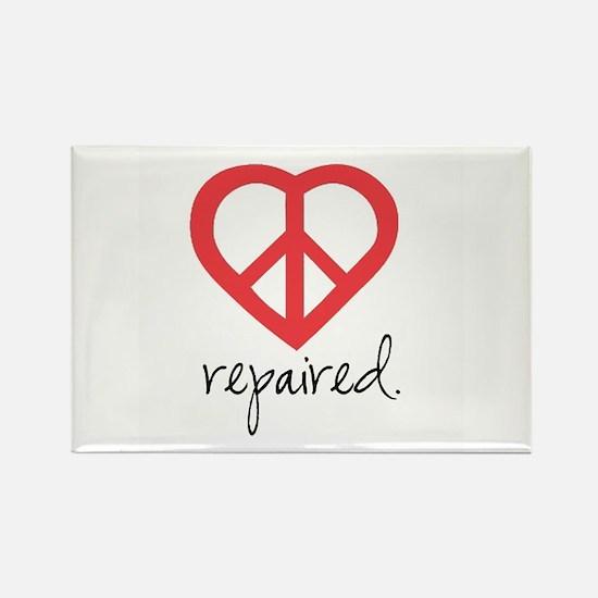 Cute Heart awareness Rectangle Magnet