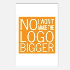 No Big Logos Postcards (Package of 8)