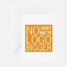 No Big Logos Greeting Cards (Pk of 10)