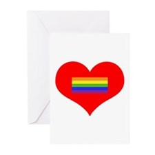Valentine's Day - LGBT Greeting Cards (Pk of 20)