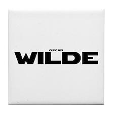 Oscar Wilde Tile Coaster