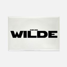 Oscar Wilde Rectangle Magnet