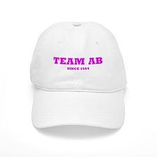 """Team AB (Pink)"" Baseball Cap"