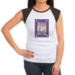 Sunset Marsh Batik Women's Cap Sleeve T-Shirt