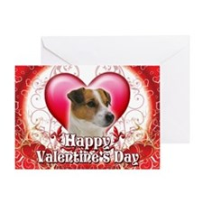 Happy Valentine's Day Jack Ru Greeting Card