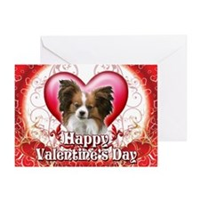 Happy Valentine's Day Papillo Greeting Card