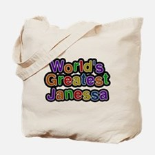 Worlds Greatest Janessa Tote Bag