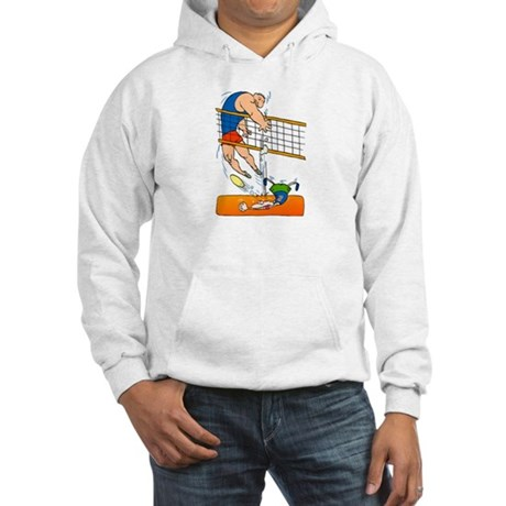 VOLLEYBALL {5} Hooded Sweatshirt