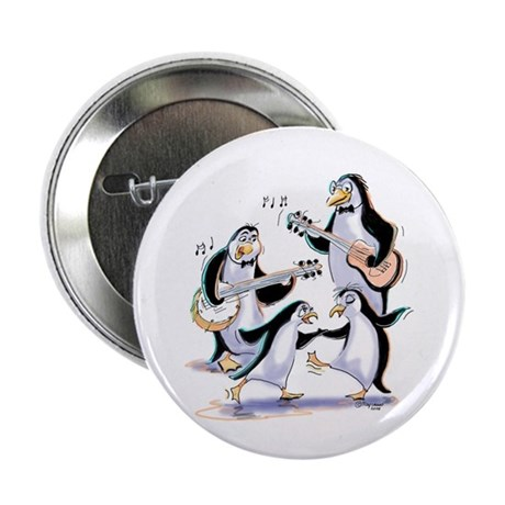 """pEnGuInS sWiNgInG 2.25"""" Button (100 pack)"""
