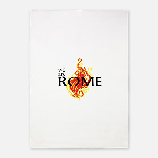 We Are Rome 5'x7'Area Rug