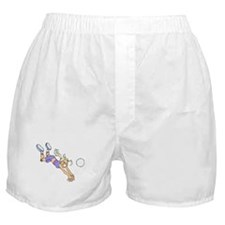 VOLLEYBALL PLAYER {4} Boxer Shorts