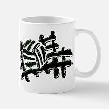 VOLLEYBALL {13} : green Mug